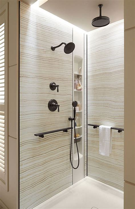 kohler choreograph kohler s choreograph shower wall accessory collection is