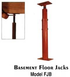 were there floor jacks in the ramsey basement