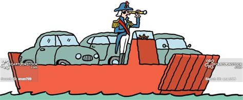 ferry boat cartoon car ferry cartoons and comics funny pictures from