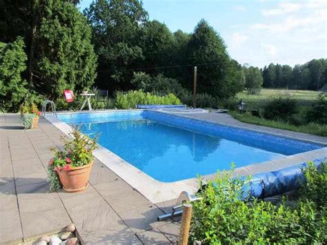 small swimming pool cost small inground pools ideas