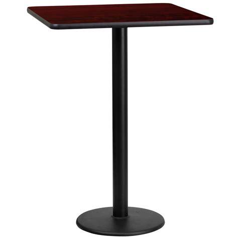 flash furniture 24 mahogany laminate table top