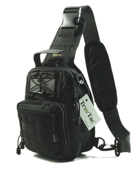 Tas Tactical Sling Bag travtac stage ii sling bag premium small edc tactical sling pack 900d paracord knots search