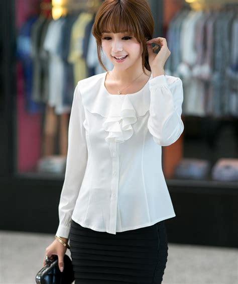 Preloved Kemeja Kerja Wanita Branded 3 memilih kemeja kerja wanita yang elegan agar til cantik di kantor