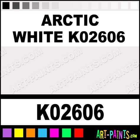 arctic white k02606 h2o enamel paints k02606 arctic white k02606 paint arctic white k02606
