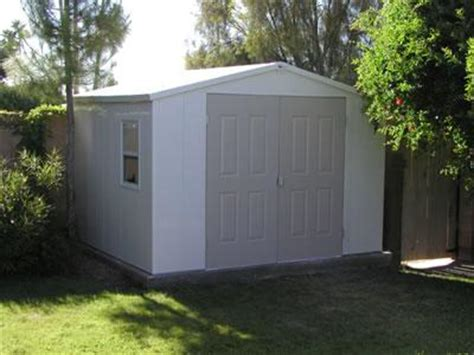 Royal Vinyl Storage Sheds by Royal Vinyl 8 X 10 Shed From Atlanta Metro Fence In