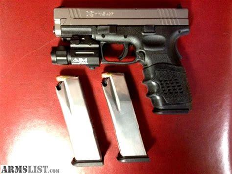 springfield xd 45 acp tactical light armslist for sale springfield xd 45 acp bitone pistol
