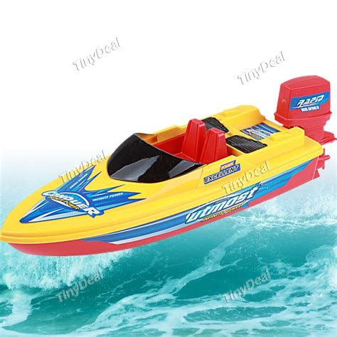 toy motor boat 2 x aa battery powered electronic motorboat motor boat toy