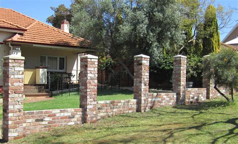 types of bricks for garden walls bricklayers garden wall brickwork services australia
