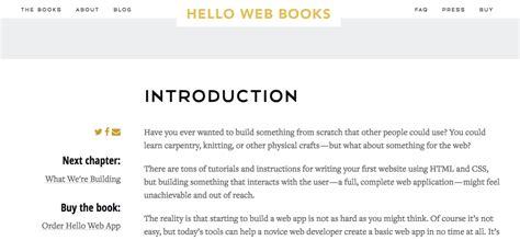 django video tutorial kickstarter hello web books really friendly beginner web books by