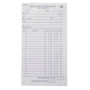 olympic no 724 carbonless invoice and statement book 50