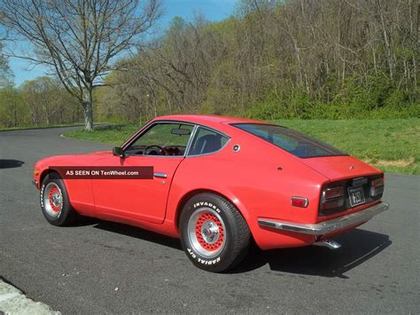 orange nissan truck pin datsun 240z car on pinterest