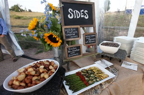 country style meals aspen mountain rustic wedding rustic wedding chic