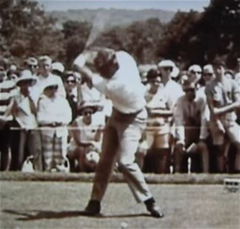 arnold palmer swing arnold palmer s swing in slow motion golfblogger golf blog