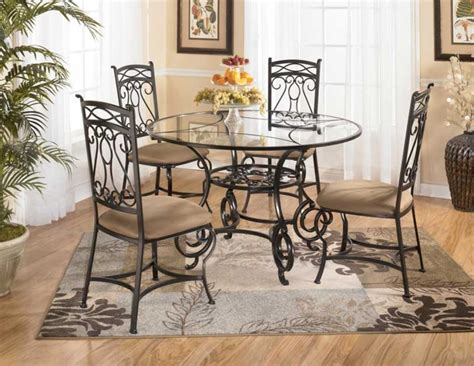 wrought iron glass top kitchen table wrought iron kitchen tables displaying attractive