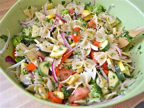 recipe of the week summer pasta salad fundcraft summer vegetable pasta salad recipe dinner tonight