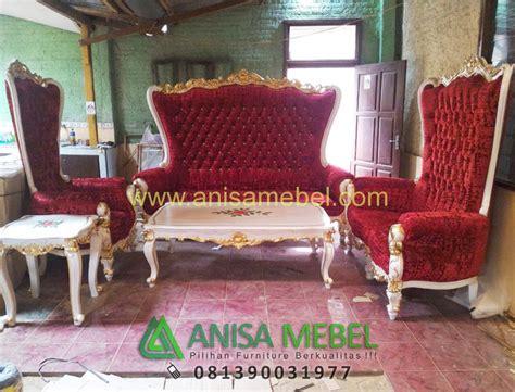 Kursi Sofa Princes Syahrini set kursi sofa tamu mewah princes syahrini anisamebel