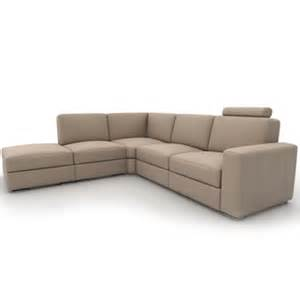 free sofa cortina corner sofa 3d model 3d furniture models