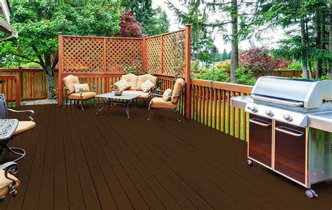 deck stain colors  blue houses
