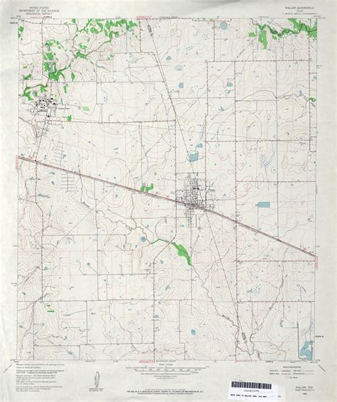 waller county texas map texas topographic maps perry casta 241 eda map collection ut library