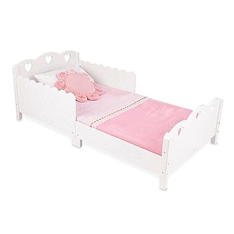 a bed for my heart kidkraft 174 heart toddler bed white bed bath beyond