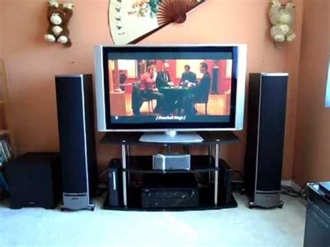 home theater setup update polk audio rti series speakers