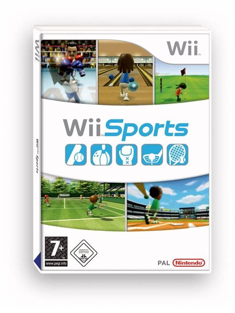 wii console sports jaquettes wii sports