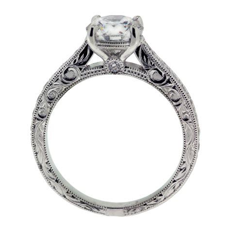 engraved engagement rings engraved engagement ring mouradian custom