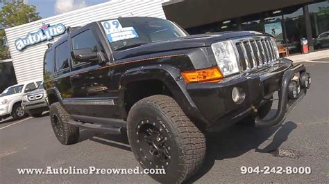 Jeep Commander For Sale By Owner Autoline Preowned 2009 Jeep Commander Limited For Sale