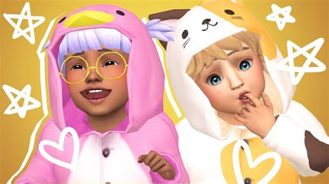 sims 4 toddler cc the sims 4 toddlers cc shopping showcase animal
