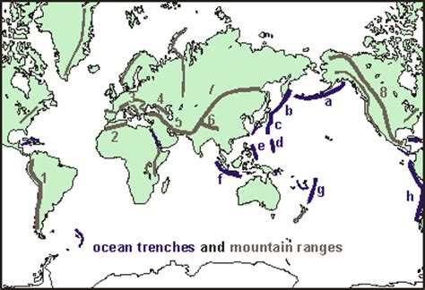 Ocean trenches map best ocean 2018 world map with ocean trenches fresh middle america trench valid gumiabroncs Choice Image