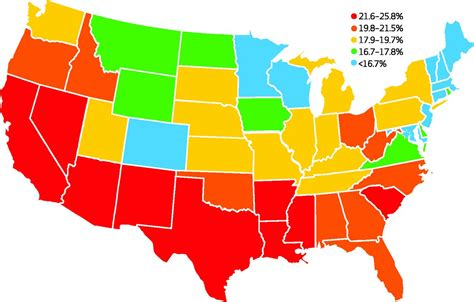 cheapest state in usa point click care united states bing images