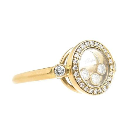 chopard happy yellow gold ring at 1stdibs