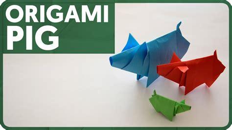 Dollar Origami Pig - origami diagram origami pig eduardo clemente 3d origami