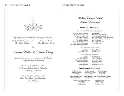 wedding invitation tagalog wordings sle invitation letter for wedding sponsors inviview co