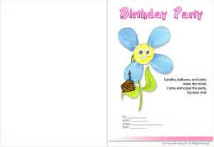 free printable custom birthday invitations