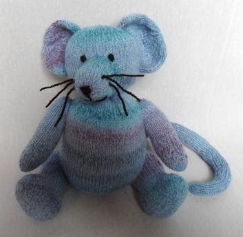 mouse pattern etsy marble mouse knitting pattern download double knitting light