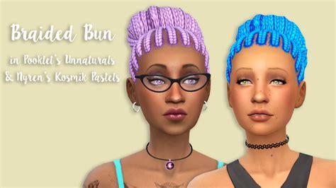 sims 4 bun braids sims 4 female braids newhairstylesformen2014 com