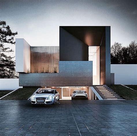 moderne garagen ultra modern home exteria wood accents underground