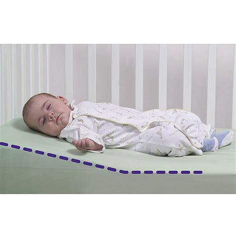 Newborn Crib Wedge safe lift universal crib wedge dexbaby ebay