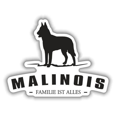 Silhouette Aufkleber Folie by Aufkleber Malinois Silhouette