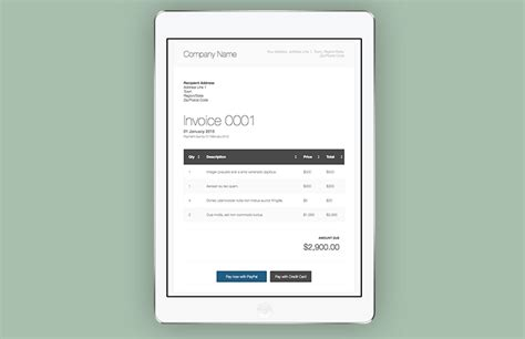 css templates for invoices html invoice template medialoot