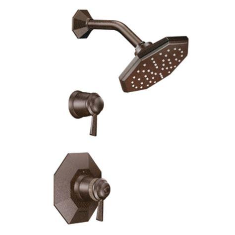shop moen waterhill oil rubbed bronze 2 handle high arc shop moen felicity oil rubbed bronze 2 handle shower