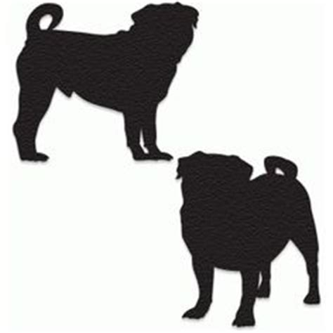 pug silhouette clip free pug clip image pug silhouette with the word quot pug quot graphics