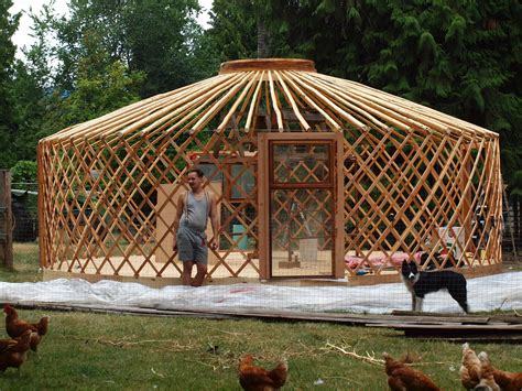 Building A Tent Platform by Image Gallery How To Build Yurt