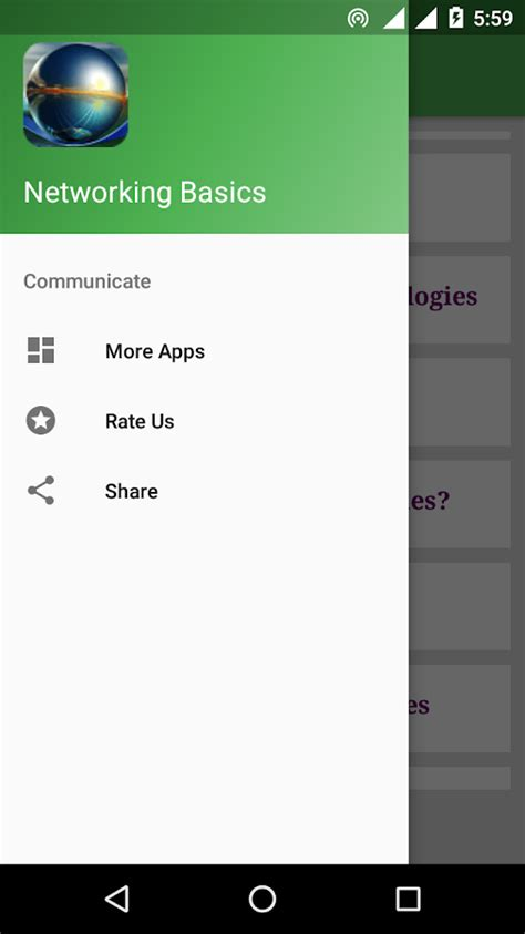 tutorial video networking networking basics tutorial android apps on google play