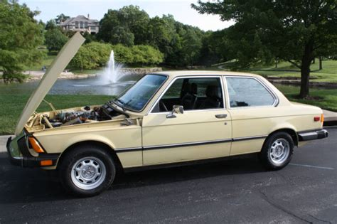 1977 Bmw 320i by Classic 3 Series 1977 Bmw 320i E21 Coupe Yellow Excellent