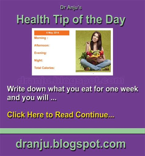 Tips Of The Weektheres Nothing Like 3 by Health Tip Of The Day 6th May Health Tip Of The Day