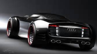 the new audi car audi r10 v10 supercar impressive concept study by design
