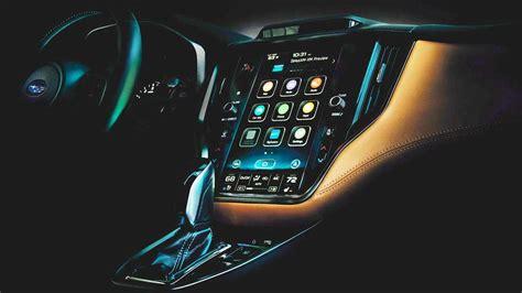 Subaru Legacy 2020 Interior by 2020 Subaru Legacy Teases New Vertical Infotainment Screen