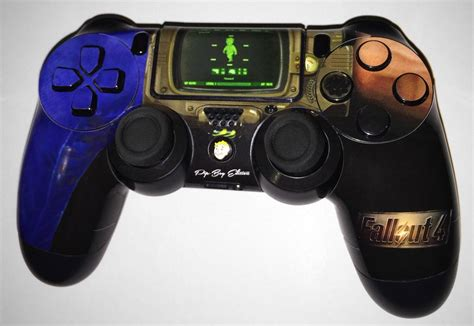 fortnite with ps3 controller these fallout 4 ps4 xbox one controllers are a wastelander